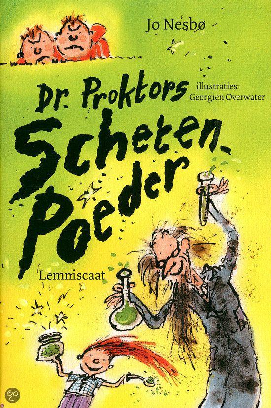 Dr. Proktors Schetenpoeder Jo Nesbø schrijft ook hele fijne kinderboeken. Leest makkelijk weg.