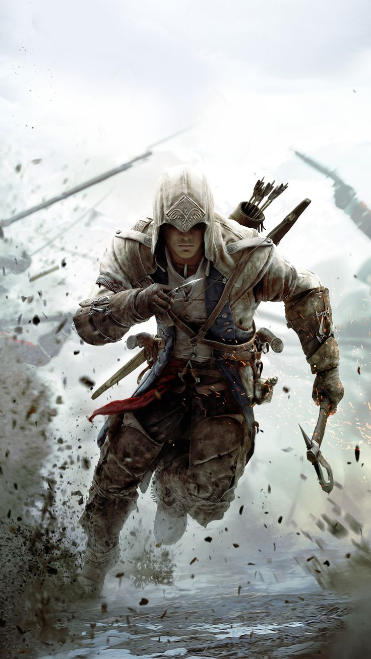 Download 2160x3840 wallpaper Assassin's Creed 3, game