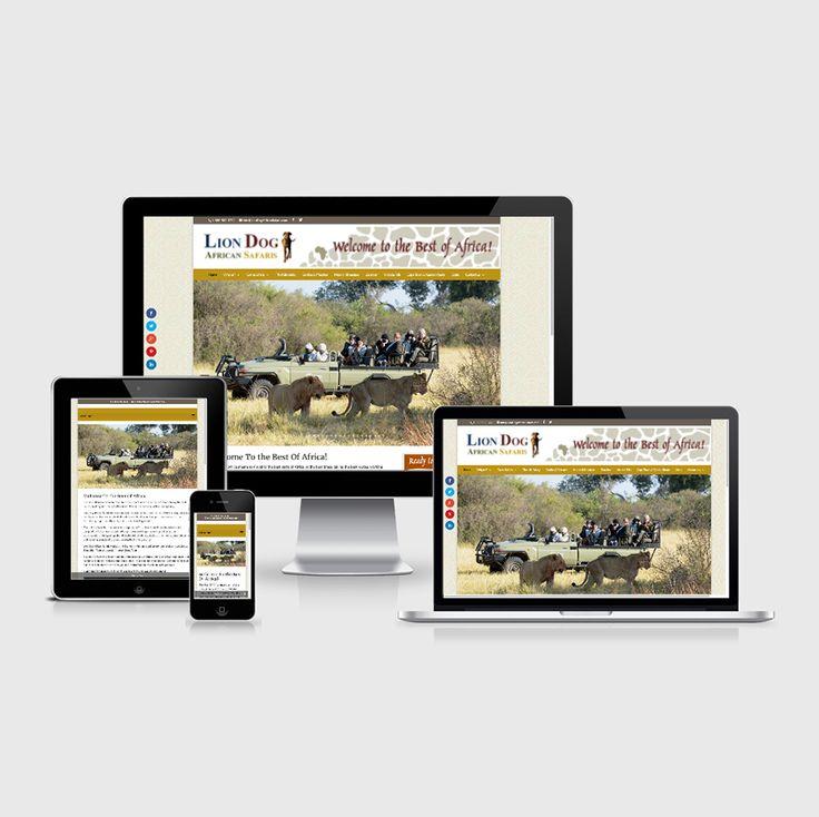 Website Developed for Lion Dog African Safaris - Wordpress and Divi website development. #divideveloper #diviwebsitedesign #wordpressdeveloper #freelancedivideveloper #freelancewordpressdesigner