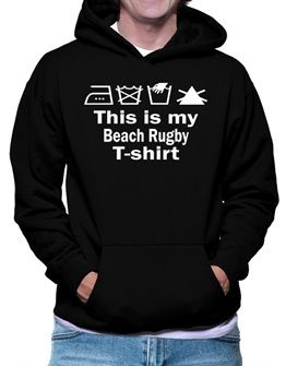 This Is My Beach Rugby T-shirt