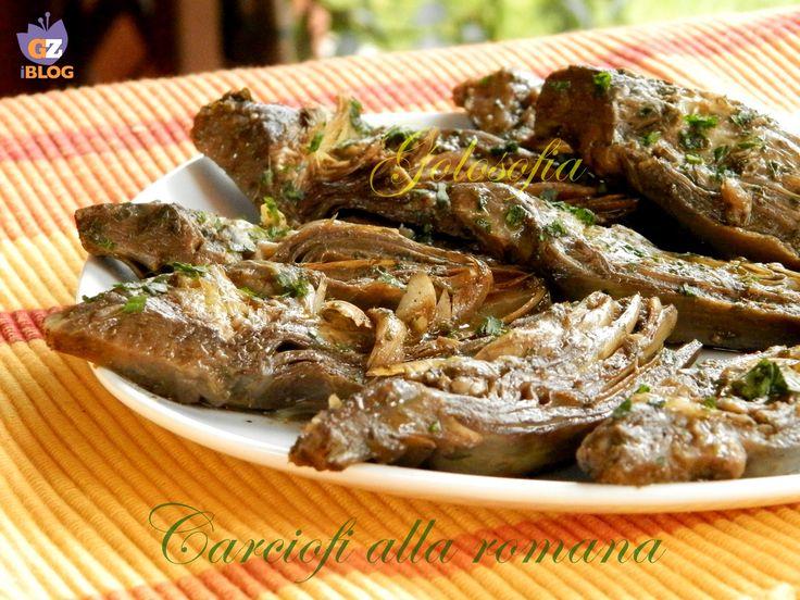 Carciofi+alla+romana,+ricetta+fantastica!