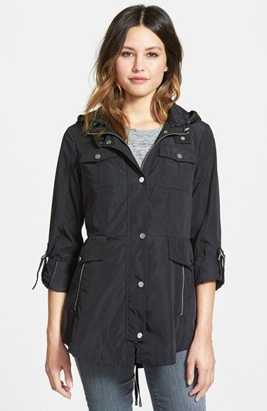 French Connection Fit & Flare Anorak | Nordstrom
