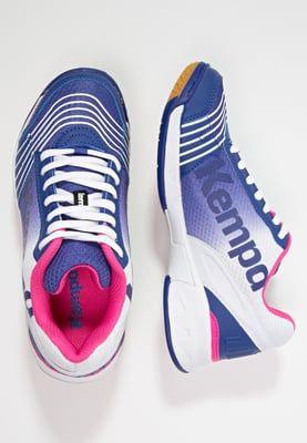 Ein Schuh, der Handballerinnen begeistert. Kempa ATTACK THREE - Handballschuh - electric blue/white/pink für 79,95 € (03.06.16) versandkostenfrei bei Zalando bestellen.
