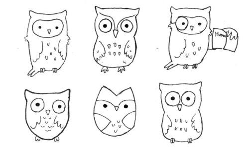 6 owls: Whootful Owls, Hoot Hoot, Owl Drawings Doodles, Illustrations Owls, Owl Obsession, Draw Owls, Craft Ideas, Draw Animals Owls, Aww Owls
