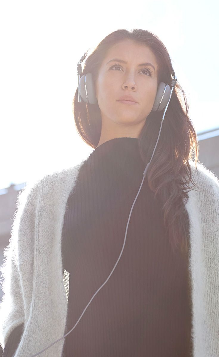Gray is the new Black. Limited Edition Linea Headphones in Slate & Gunmetal available now
