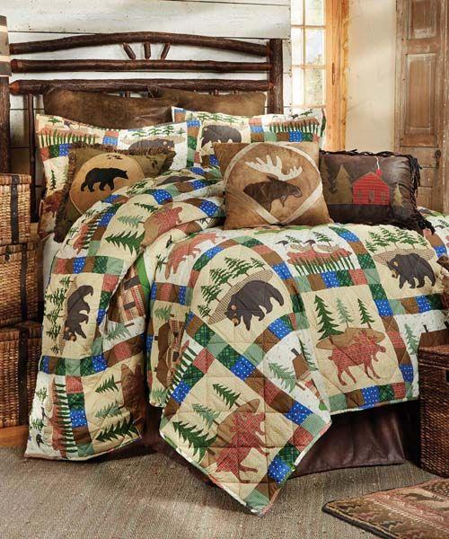 Rustic Quilts - Rustic Bed & Bath - Quilt Sets