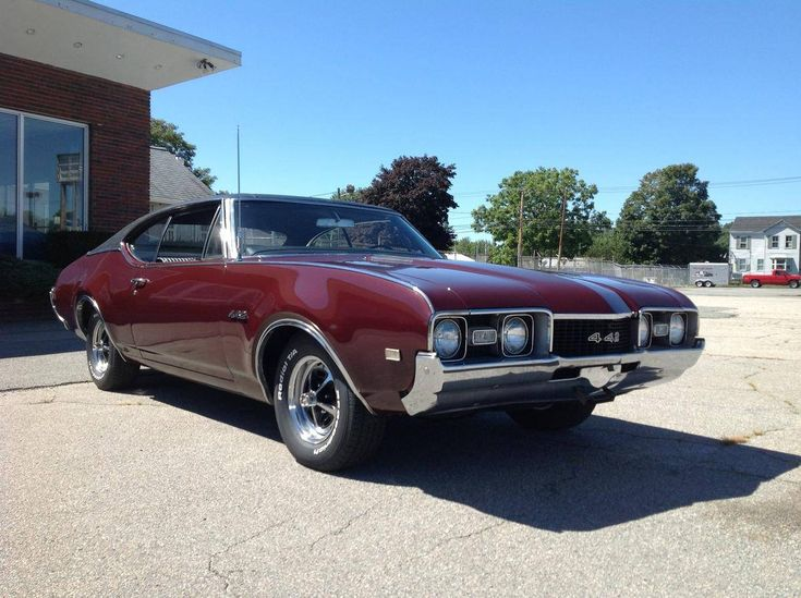 1968 Oldsmobile 442 2-door Hardtop