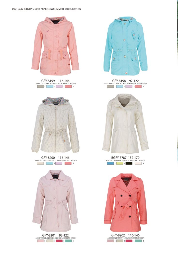 Lovely girl coats for Spring  #glostory #fashion #forgirls #ss15 #cute #clothing #fashion #tshirt #jacket  #coat