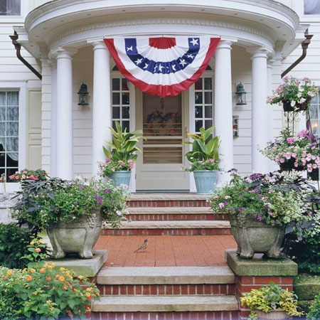 12 best images about round front porch on pinterest four for Round porch columns