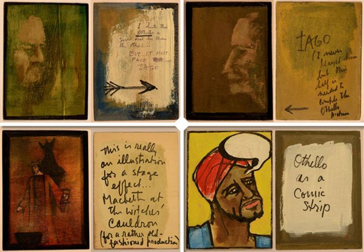Orson Welles, Shakespeare, i sigariI volti dei personaggi dipinti sulle scatole - Corriere.it