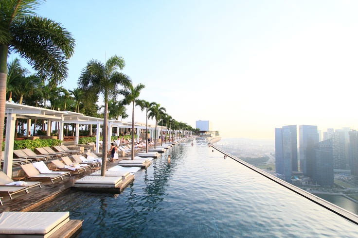 Marina Bay Sands, Singapore  Spectacular view from top