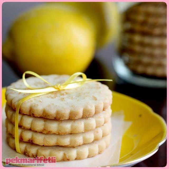 Limonlu bisküvi tarifi | Mutfak | Pek Marifetli!