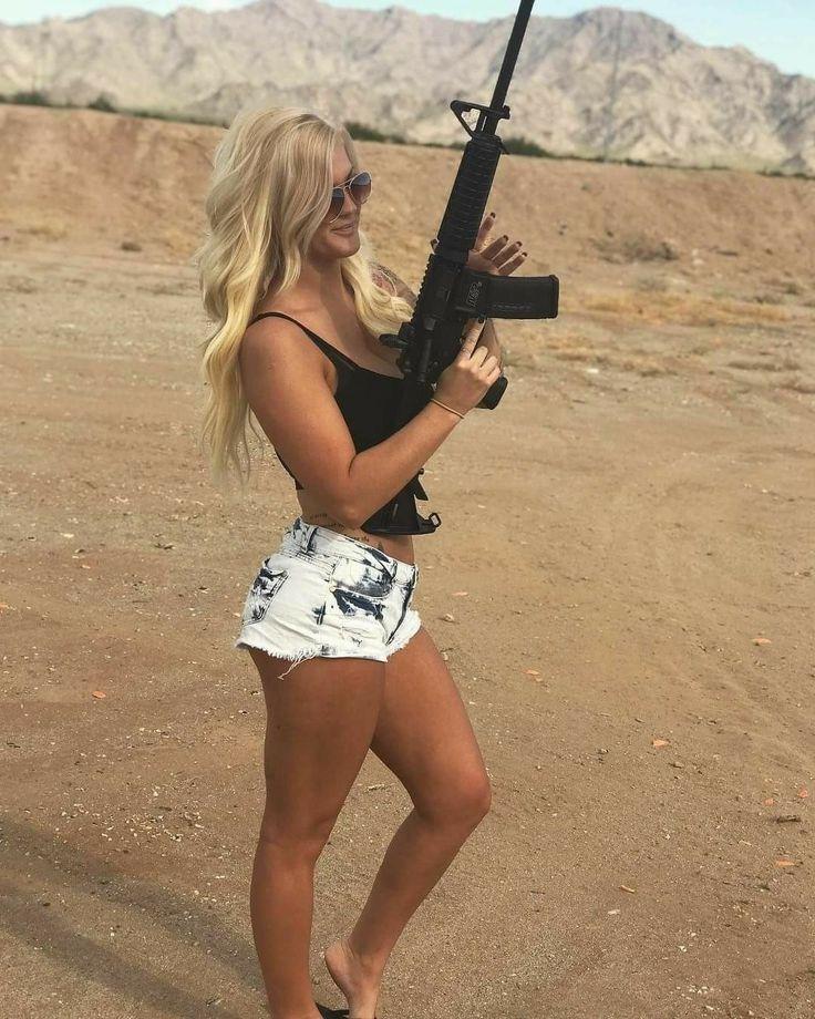 #survivalism #prepping | Girl guns, Military girl