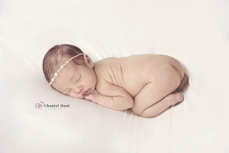 Newborn portraits sleeping baby pictures yuba city ca by chantel hunt photography