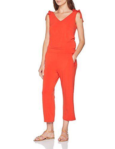 b346d5616455 comma Damen Jumpsuit 8T.806.85.3681 Rot (Melone 3060) 42.  apparel ...