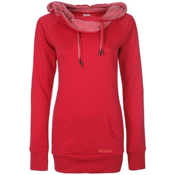 Bench womens dopiofun n heavy top hoody ($60) ❤ liked on Polyvore