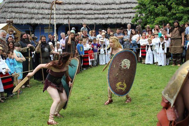 (un)intentional contemporary art in Transylvania: Gladiatorial news from Virtus Antiqua