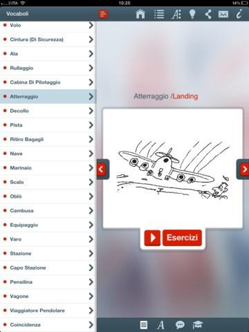 #MemoLingue App  Questa applicazione sfrutta un metodo nuovo e divertente per memorizzare facilmente i vocaboli di una lingua, senza dimenticarli dopo poco tempo.  Ogni vocabolo è associato a un'immagine che vi permetterà di ricordare la parole, grazie all'associazione mentale che farete con lo stesso vocabolo il quale viene abbinato a immagini ironiche e surreali.
