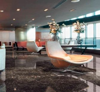 Get the cleanest look for your commercial flooring with Marble. This glazed porcelain tile is available in three designs and shades to highlight your interior design and furnishings.