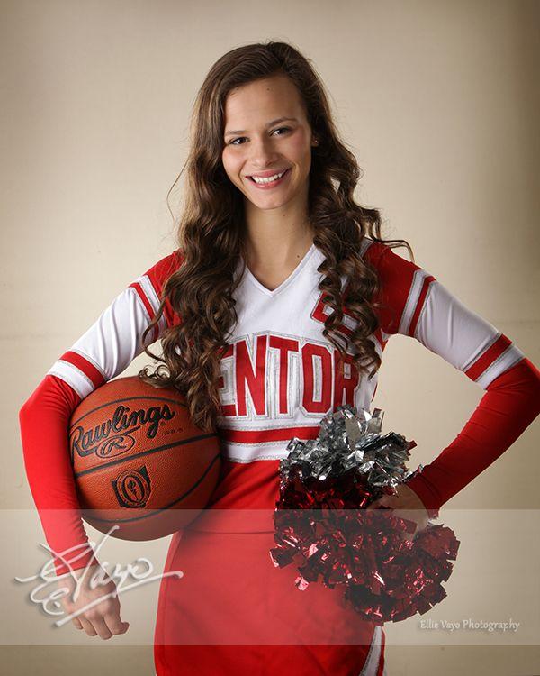 Michelle, basketball cheerleader at Mentor High School Class of 2016