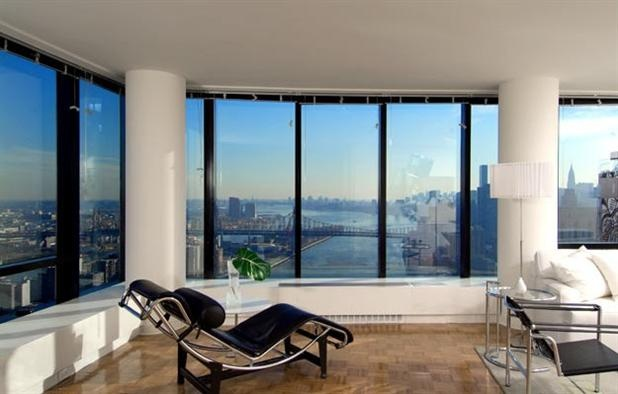 glass window walls w panoramic north east and southern views rental upper nyc apartment rentalsside