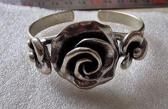 """Старинный браслет из Англии """"Розы"""""""