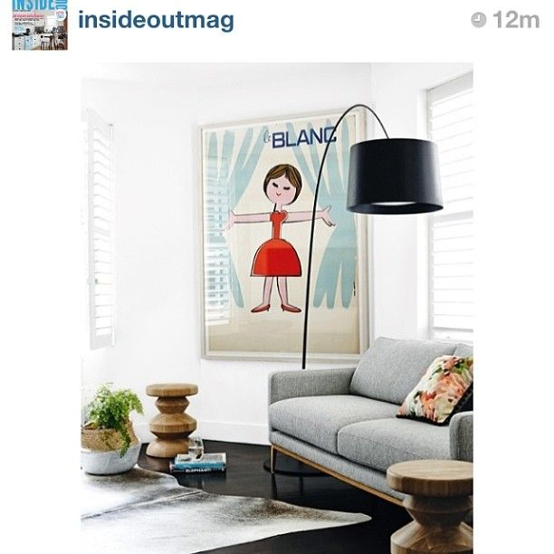 Our Beautiful Le Blanc Original Vintage Poster In Inside Out Magazine Instagram