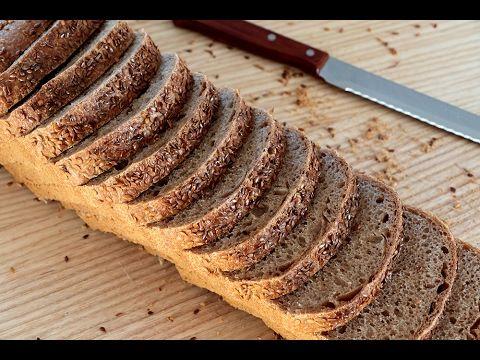 Pan integral 100% - Receta de pan integral casero - Esbieta