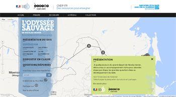 Suivi pédagogique de l'expédition « L'Odyssée Sauvage », de Nicolas Vanier - départ 21 décembre