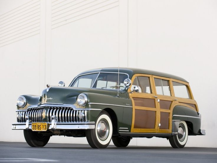 1950 DeSoto Custom Suburban Station Wagon.