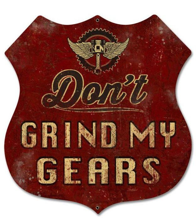 Garage Car Signs : Vintage and retro tin signs jackandfriends dont
