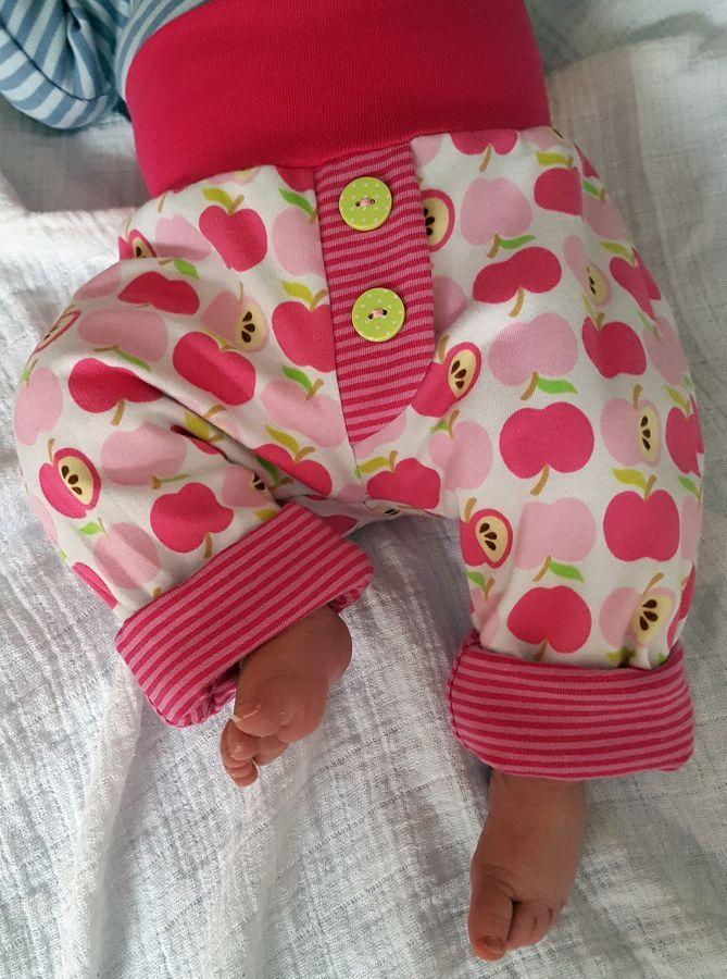 Sewing pattern Babybüx by Lumali