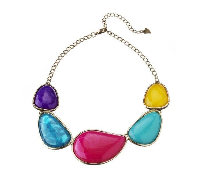 Organic Stone Collar Necklace from Diva #MacquarieCentre