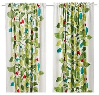 IKEA Stockholm Blad Pair of Curtains - contemporary - curtains - by IKEA