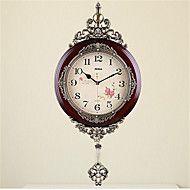Luxury+Solid+Wood+Swing+Clock+–+AUD+$+122.25