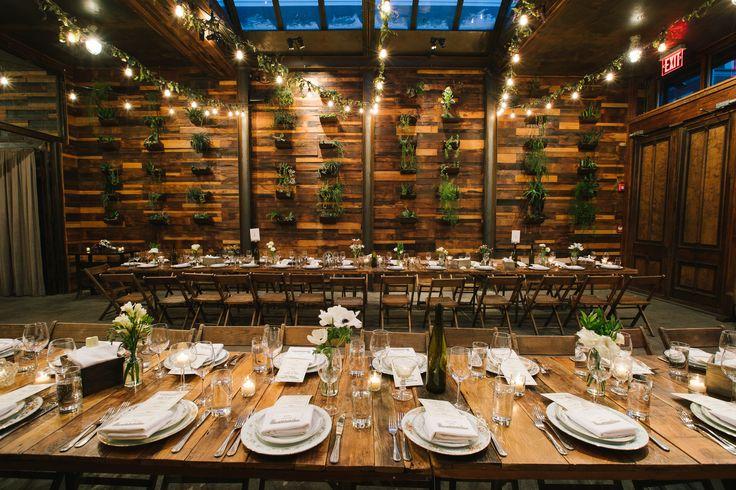 Urban Winter Wedding At Brooklyn Winery