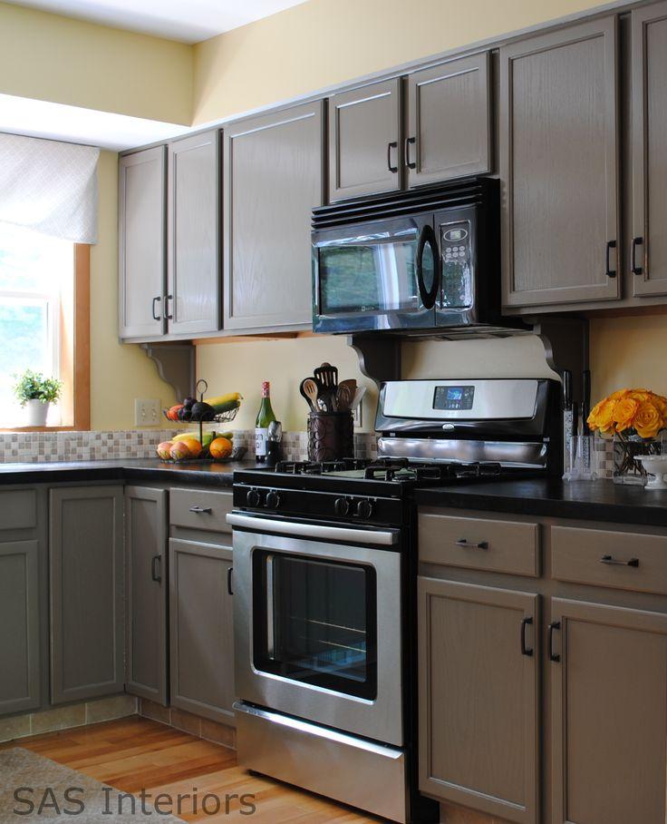 20 Enticing Kitchen Color Schemes: Best 20+ Dark Countertops Ideas On Pinterest