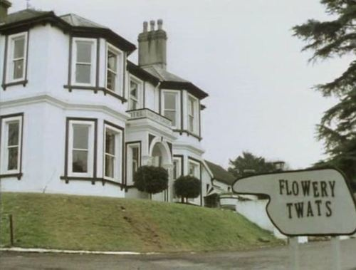 Fawlty Towers famous sign fails!