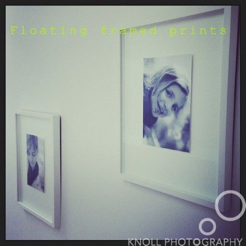 Top five tips for displaying photos - the floating frame