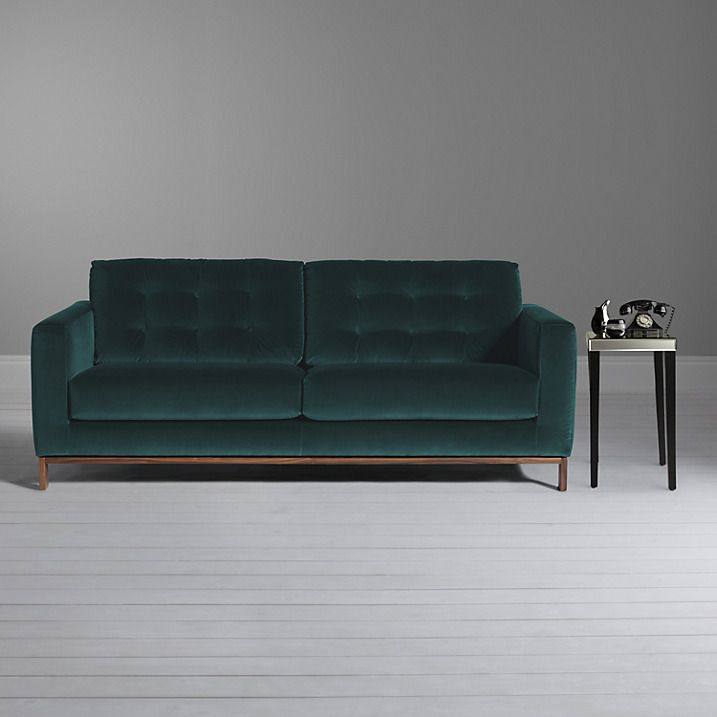 Buy Furia Odyssey 3 Seater Sofa, Marco Emerald Green Online At  Johnlewis | Lounge Ideas | Pinterest | Lounge Ideas
