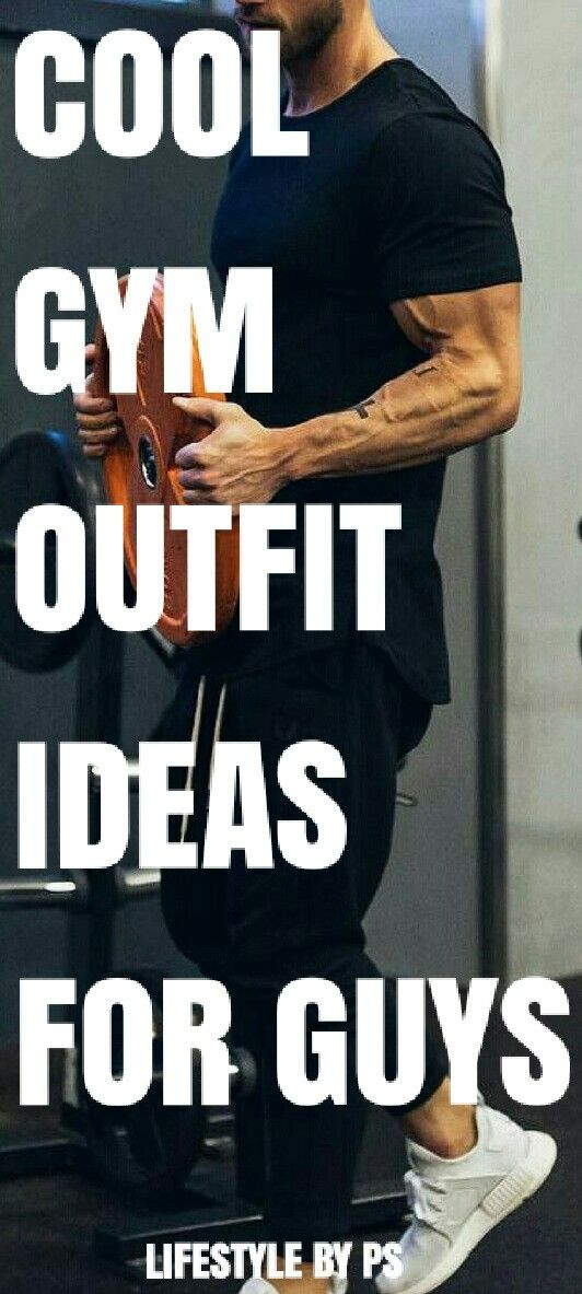 GYM OUTFIT IDEAS for men .