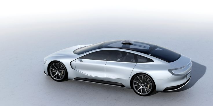 The Roof of the Car along with the Front & Rear Windscreen looks like a Singe Unit