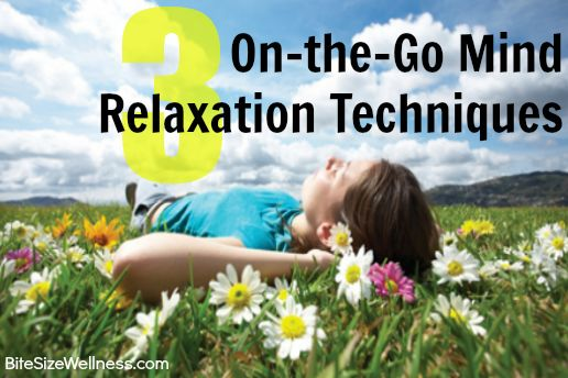 how to get mental relaxation