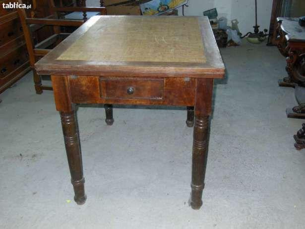 Antyki meble secesja XIX/XX w. stół z krzesłami Strzegom - image 3