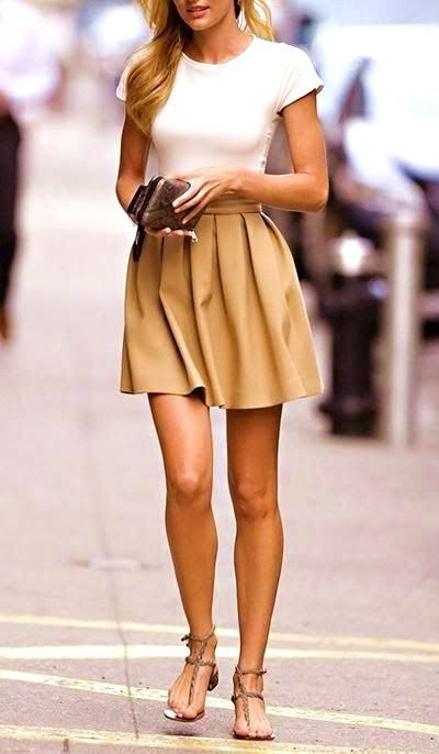 16 Cute And Refreshing Spring Outfit Ideas That Youll Love #spring #outfits #women #casual #school #preppy #style