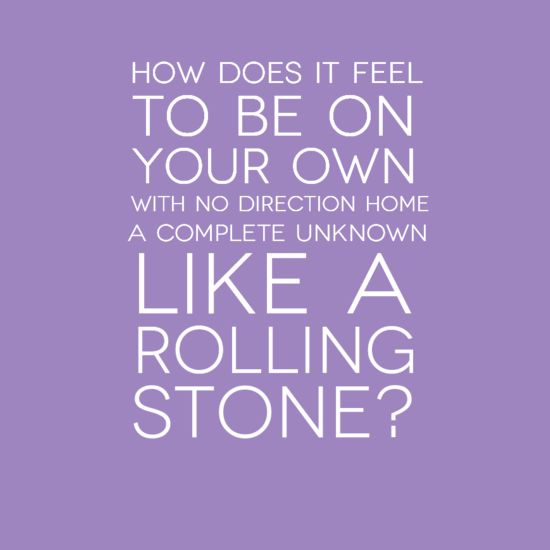 Bob Dylan - Like A Rolling Stone. See the full lyrics and music video at MusicBlvd.com. #lyrics #bobdylan
