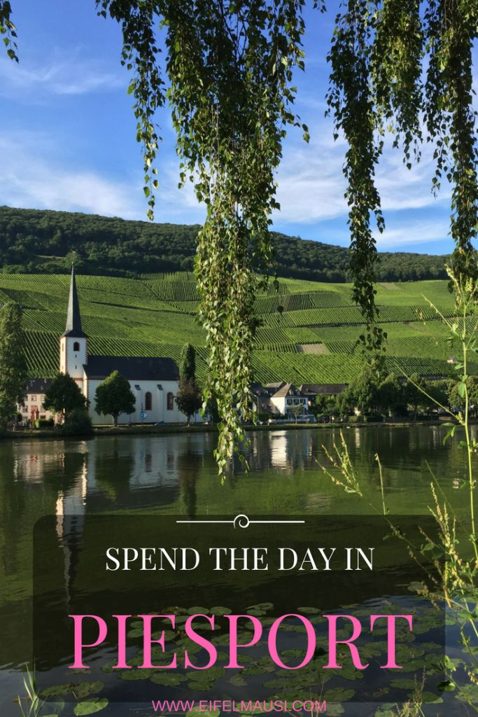 Piesport is a charming little village on the Moselle River, and it's only a 30 minute drive from Spangdahlem.