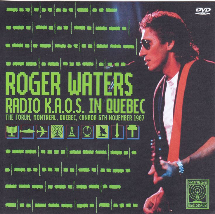 Roger Waters-radio-kaos-Québec1