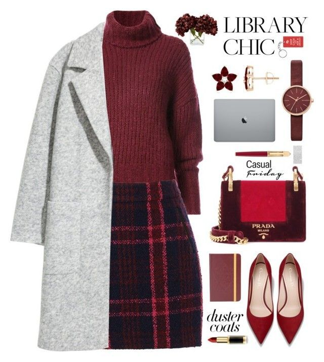 """Casual"" by blessedunicorn ❤ liked on Polyvore featuring BY. Bonnie Young, Oasis, Prada, Skagen, Frontgate and Cartier"