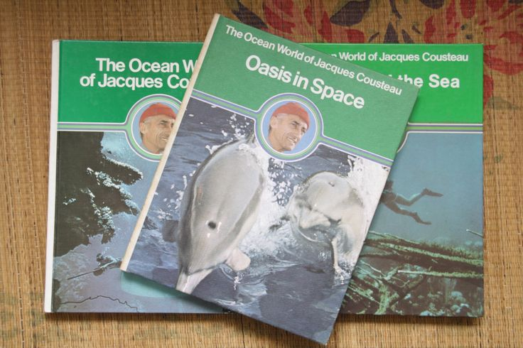 Ocean world of Jacques Cousteau. Pharaohs of the Sea edition. Steve Zissou. Childrens science book. Vintage education. Jacques Cousteau by ForestHillTradingCo on Etsy